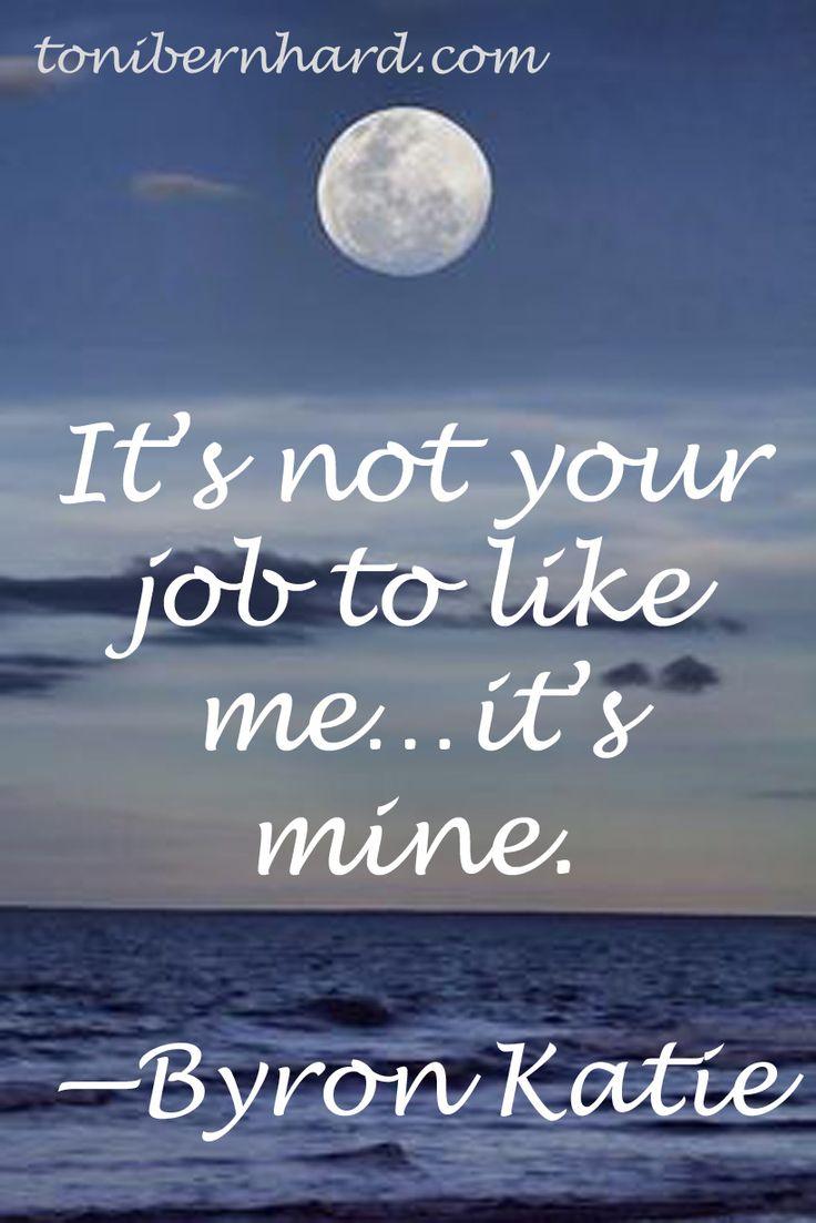Byron Katie Quotes 158 Bästa Bilderna Om Self Love På Pinterest  Dagliga