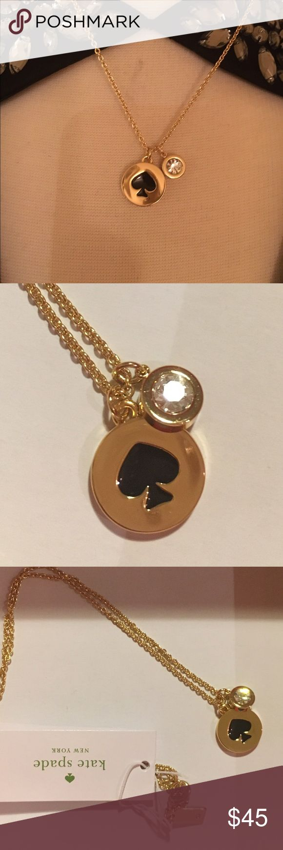 NEWKate Spade Charm Pendant Necklace NEWKate Spade Charm Pendant Necklace. Perfect Holiday Gift! Comes with giftbox ❌no trading or holding kate spade Jewelry Necklaces