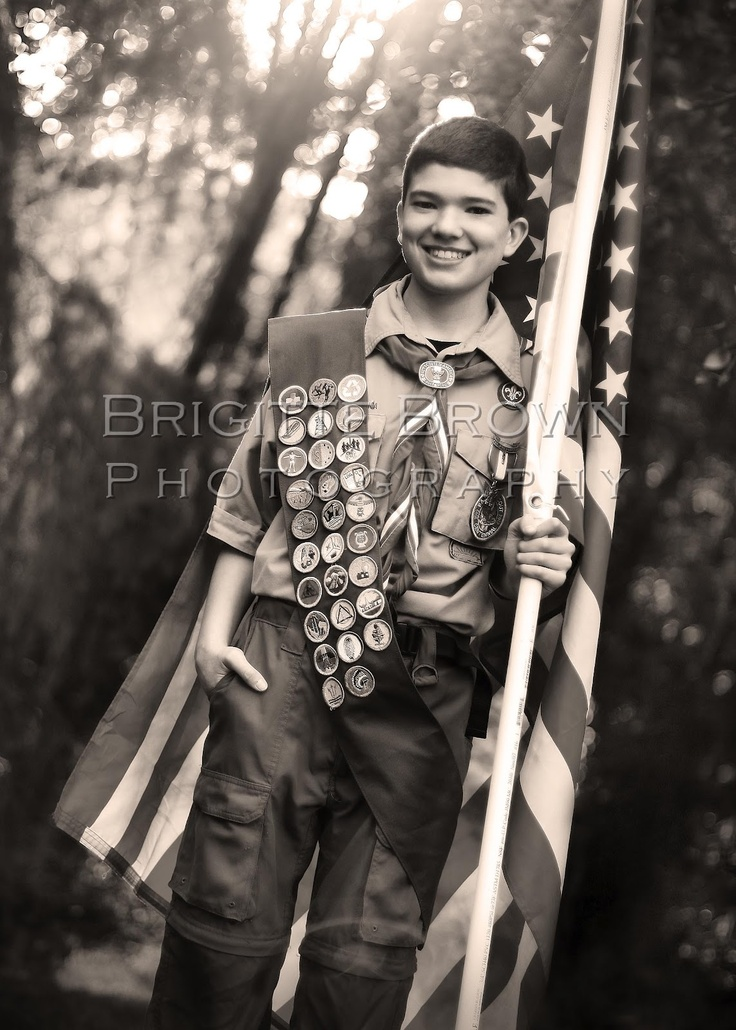 Eagle Scout  Boy Scout  American Flag