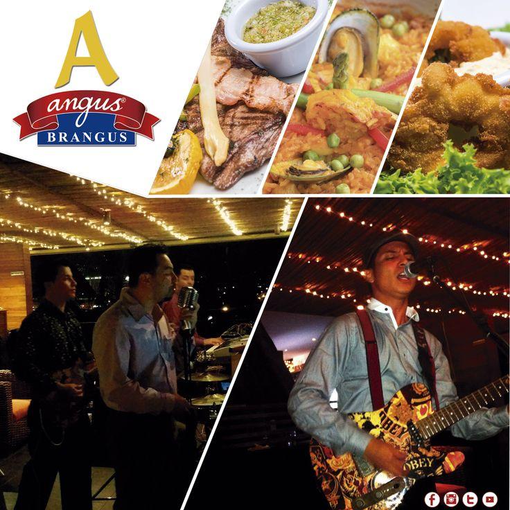 El fin de semana en Angus Brangus Parrilla Bar  la experiencia es completa, con música en vivo de jueves a sábado, gastronomía internacional, servicio de excelencia y parqueadero gratuito.   Reservas: 2321632 - 310 7006602. www.angusbrangus.com.co Cra. 42 # 34 - 15 / Vía las Palmas.  #restaurantesmedellin #nochesdemedellín #AngusBrangus #parrilla #medellíntown #medellíncity #restaurantesrecomendados #Musicaenvivo #quehacerenmedellin #dondecomerenmedellin #gastronomía #Medellín