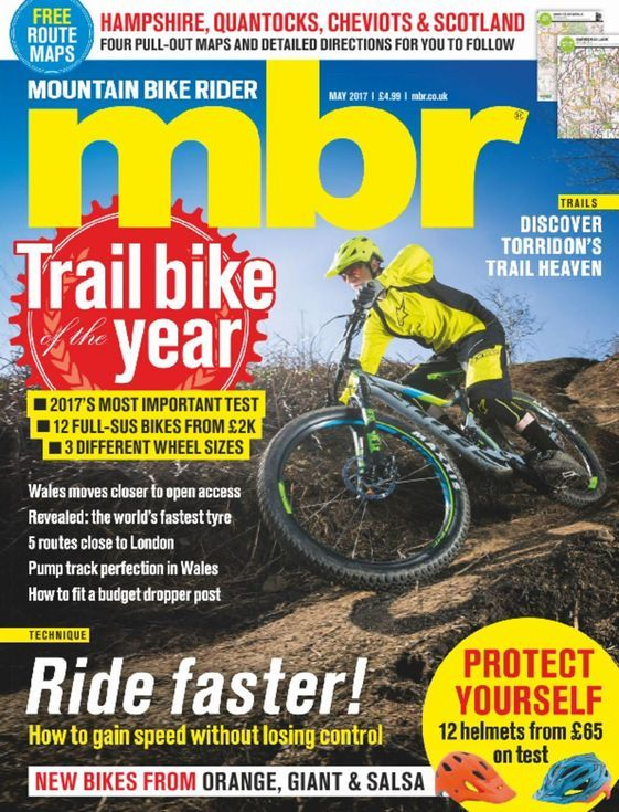 Buy Mountain Bike Ride Magazine Subscription | Buy at Magazine Café - Single Issue & Subscription Specialist in USA