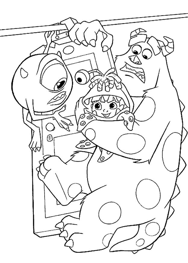 More Colouring pages