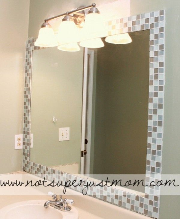 Best 25 Tile Mirror Frames Ideas On Pinterest Tile