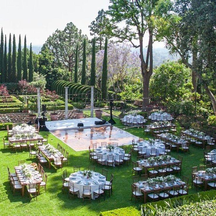 54 Beautiful Garden Wedding Design Ideas And Decor
