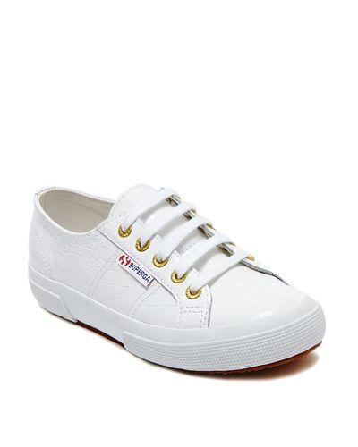 Superga Patent Croc Sneaker