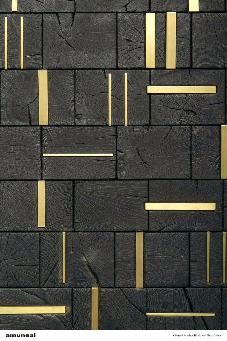 charred wood feature wall   Materials  Ceiling texture Ceiling texture types Textured walls