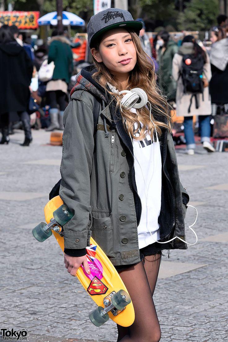 Harajuku Girl at Yoyogi Flea Market