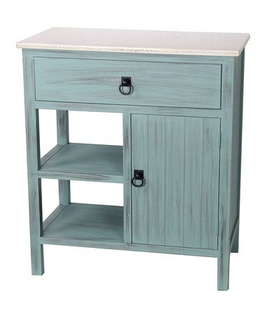 Another great find on #zulily! Teal Accent Stand by Privilege #zulilyfinds