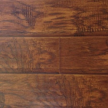 Texas Hickory 12 mm Hand Scraped Laminate Flooring.-FLOORING | LAMINATE | Surplus Building Materials