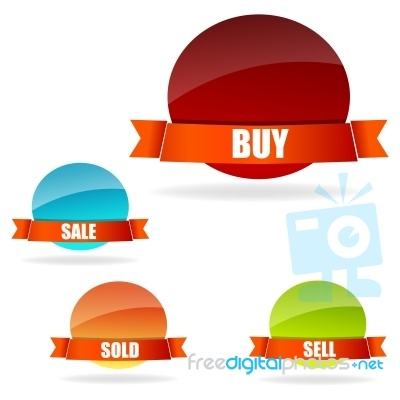 Buying And Selling Concept something to think about