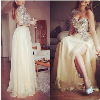 One shoulder prom dresses, unique prom dresses, sequin prom dresses, chiffon prom dresses, gorgeous prom dresses, 2016 prom dresses