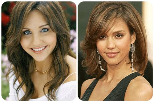 Best Haircuts For Inverted Triangle Face : Top ideas about my favorite hairstyles wigs on