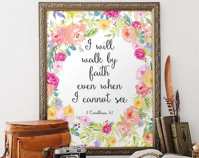 """Nursery bible verse art print, - She is clothed in strength and dignity; she can laugh at the days to come - Proverbs 31:25 ________________________________________________________  This artwork is an INSTANT DOWNLOAD. You will receive digital files to print on your own.  PRINTABLE SIZES INCLUDED You will receive a high resolution PDF and JPG files of the following sizes, that will work for most sizes up to an 20 x 24 U.S. print or A1 international print.  - 4 X 6 - 5"""" x 7"""" - 8"""" x 10"""" - 11""""…"""