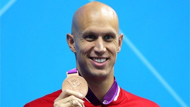 Brent Hayden receives Olympic bronze