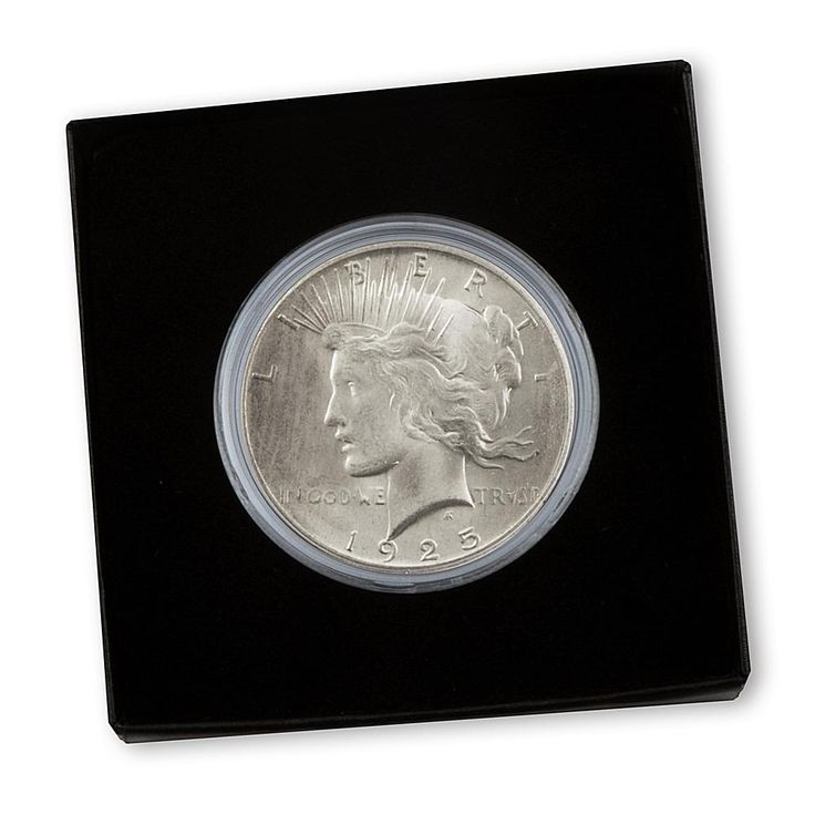 Coin Collector 1925 Uncirculated Silver Peace Dollar
