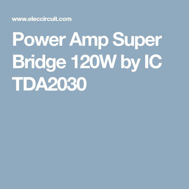 tda2030 subwoofer amplifier circuit eleccircuit com amplifierstda2030 subwoofer amplifier circuit eleccircuit com amplifiers etc audio amplifier, circuit, amp