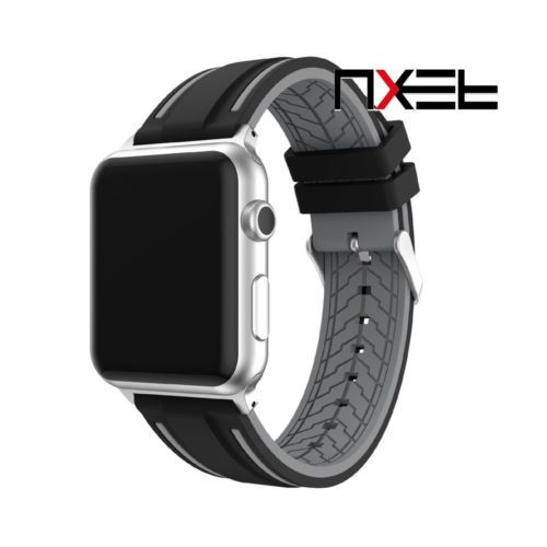 Silicone-Replacement-Watch-Band-Wristband-For-Apple-Watch-iWatch-Series-1-2-Spor