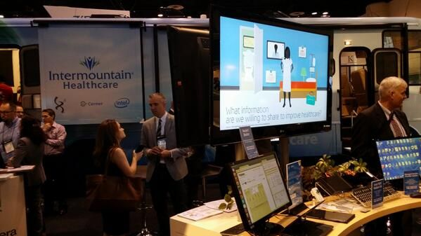 Vitalbeat was in the spotlight at HIMMS 2014 with ViSi. A special thank you to Intermountain Healthcare and IntelHealthIT Care Anywhere.