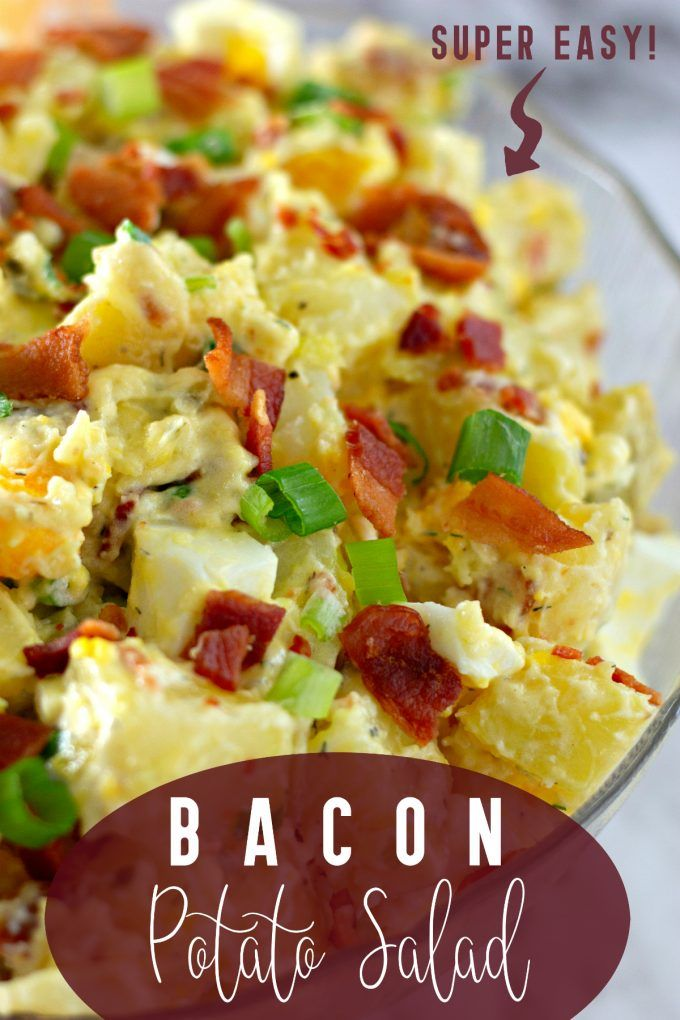 Potato Salad Recipe With Pickles And Bacon