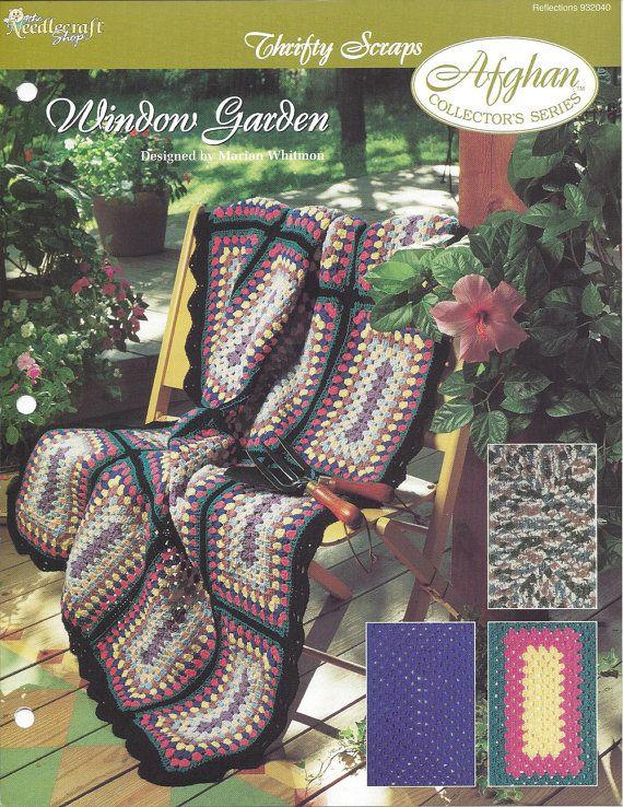 Window Garden Afghan Collectors Series b