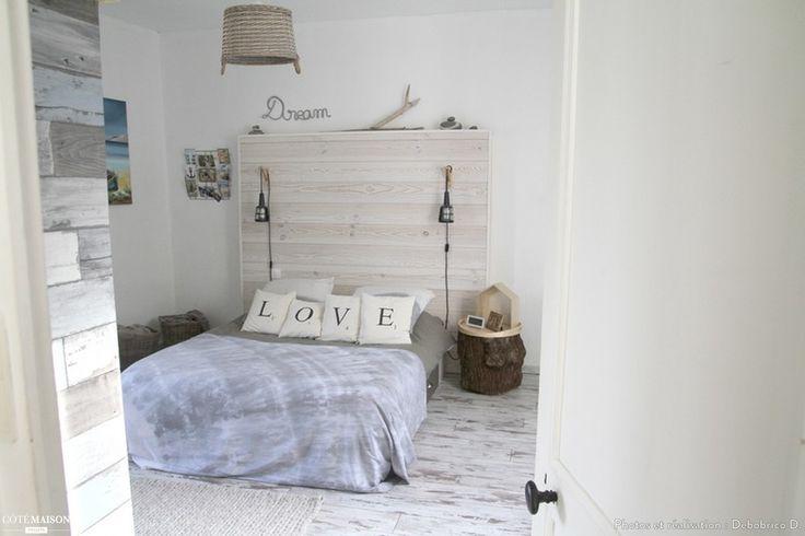 17 meilleures id es propos de plage t te de lit sur pinterest portes en t tes de lit for Chambre ambiance nature