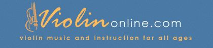 Free online violin courses. Very organized. Free audio too!