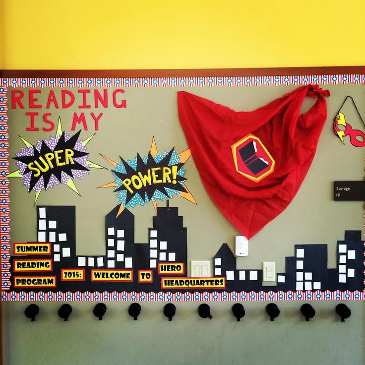 Summer Reading Program: 2015 (Every Hero Has a Story) Reading is my Super Power!