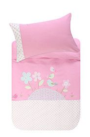 BIRDIE ON A HILL DUVET COVER SET