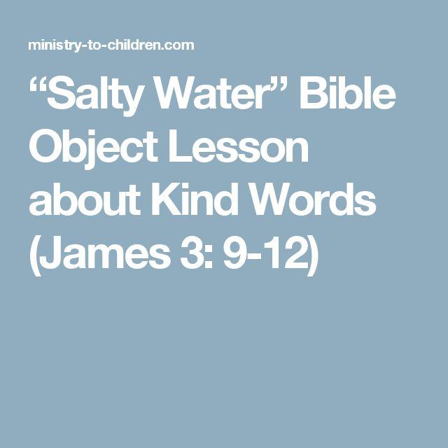Kids Sunday School Lessons Salt Of The World