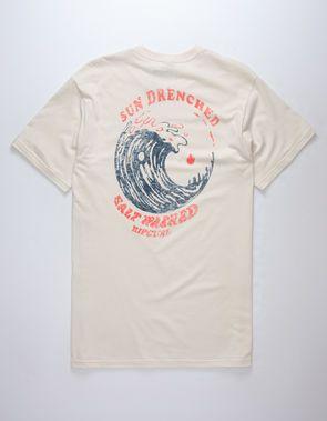 13cecc7818f1 RIP CURL Sun Drenched Mens T-Shirt | Vintage Fishing T-Shirts | T ...