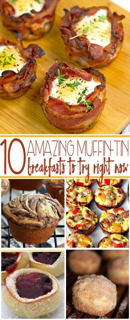 Perhaps your kids are sick of cold cereal every morning, oh wait that's me. Then it's time for these 10 Amazing Muffin-Tin Breakfasts To Try Right Now.