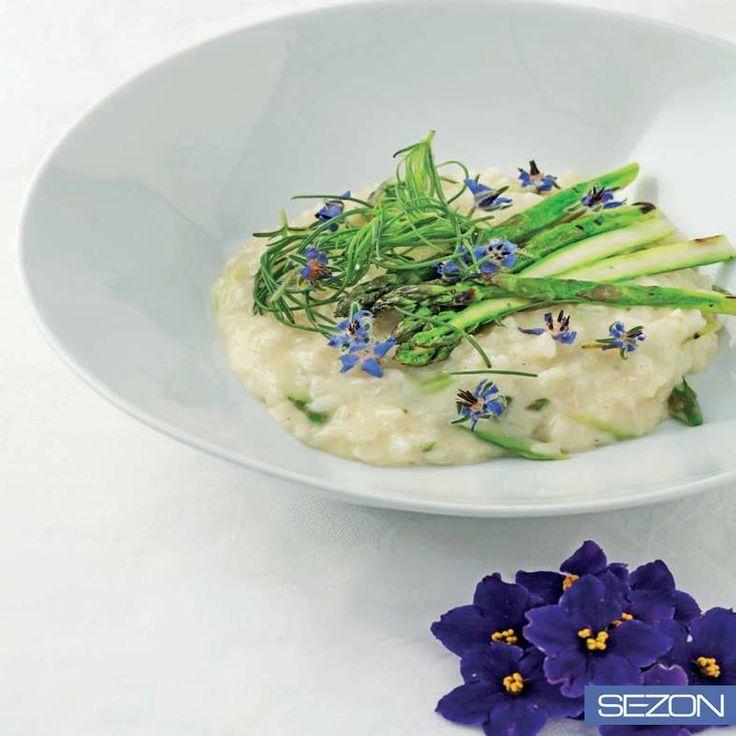 Sezon Pirinç'ten tarifler! Kuşkonmazlı ve limon otlu risotto..  http://sezon.com.tr/tr/tarifler/kuskonmazli-ve-limon-otlu-sezon-risotto22.html