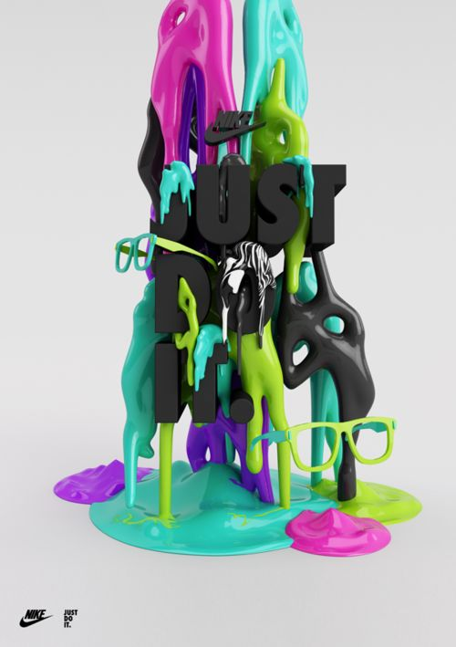Typeverything.com - JUST DO ITby Peter Tarka. - 3D Typography Design Modelling