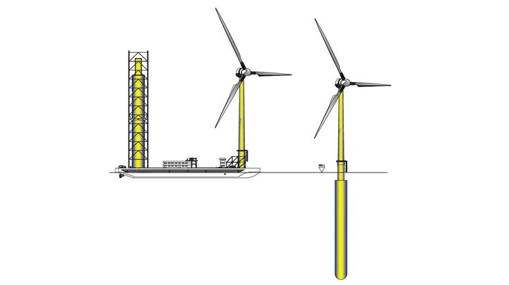 A new concept for a one-hundred-year minimum life concrete jacket foundation has been designed for offshore wind turbines. https://maritime-executive.com/article/new-concept-for-offshore-wind-turbine-jackets