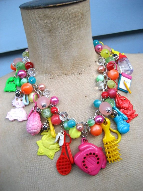 I Love The 80s Toys : Best images about s charm necklace on pinterest