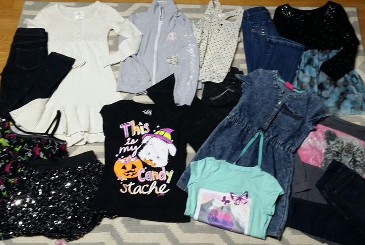LOT OF 14 GIRLS SIZE 8 10 NAMEBRAND FALL WINTER JUSTICE Seven Jeans Skinny Dress | Clothing, Shoes & Accessories, Kids' Clothing, Shoes & Accs, Girls' Clothing (Sizes 4 & Up) | eBay!