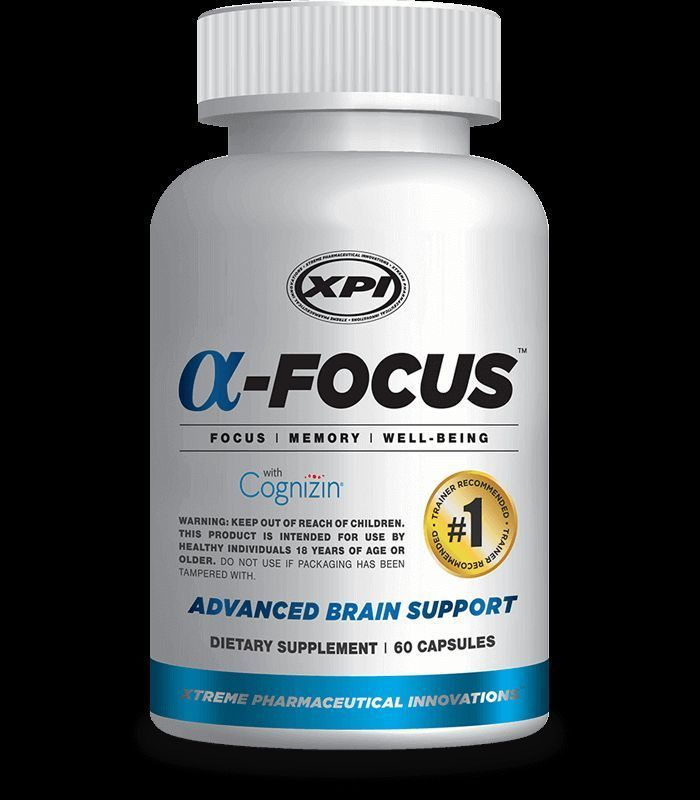 ALPHA FOCUS - BEST SUPPORT for FOCUS, MEMORY, CONCENTRATION - LIMITLESS  PILL