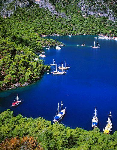#Mediterranean Sea, #Turkey colors