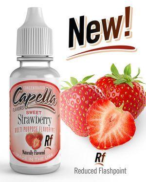 Original Bottle RF Sweet Strawberry Flavor Concentrate - 13ml UK