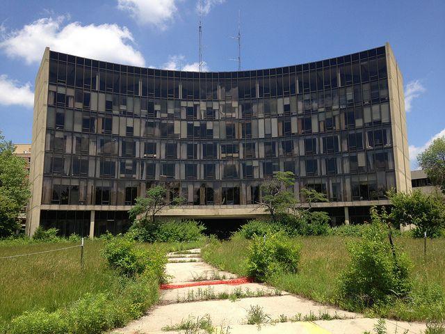Abandoned Reid Memorial Hospital In Richmond Indiana