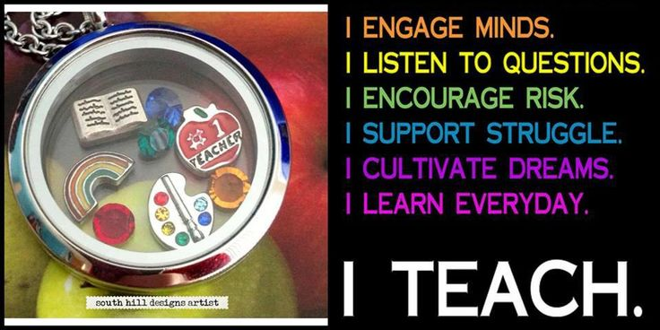 For the teachers- you rock! South Hill Designs lockets and charms. Create your story! www.southhilldesigns.com/charmedmemories Join my team today!