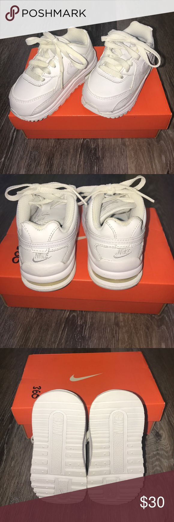 BNWT Nike Air Max Toddler sneaker BNWT Nike Air Max Wright LTD (toddler). White on white Nike Shoes Sneakers