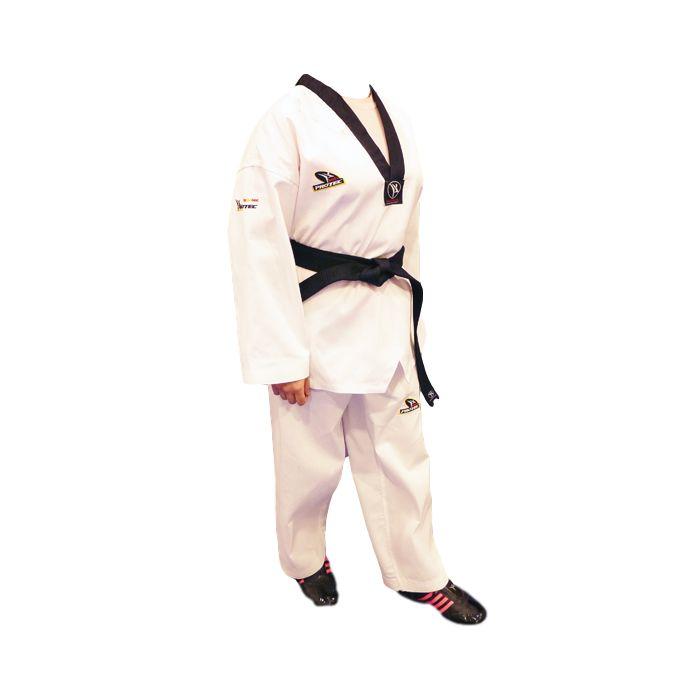 SoloArtesMarciales: Dobok Taekwondo P... en  http://soloartesmarciales.com/products/dobok-taekwondo-protec-inspire-cuello-negro?utm_campaign=social_autopilot&utm_source=pin&utm_medium=pin