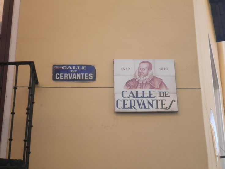 Madrid. Calle Cervantes.