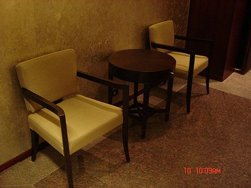 Shangri-La's Far Eastern Plaza Hotel, Upholstered armchair by Favrile #armchair