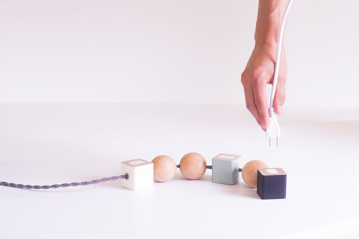 1 | The Ugly Power Cord Gets A Sculptural Makeover | Co.Design | business + design