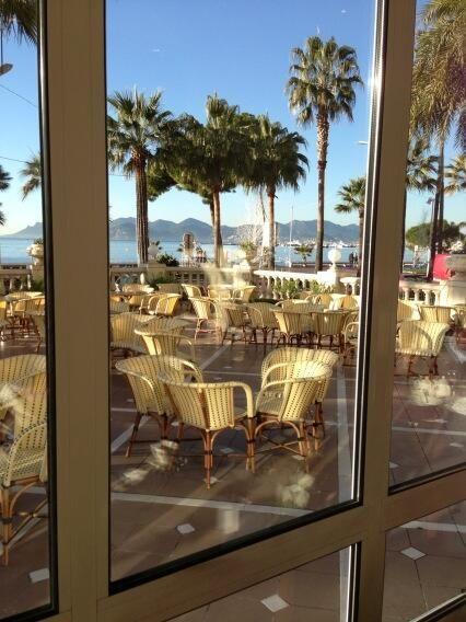 By @JantienaFieyra Breakfast Intercontinental Carlton Hotel Cannes France. Beautifull weather...