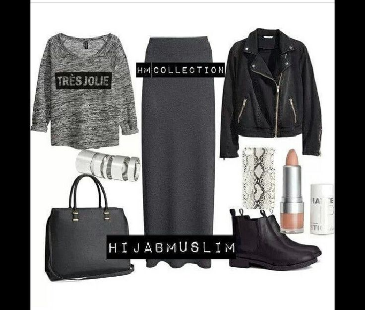 Casual outfit idea #hijab