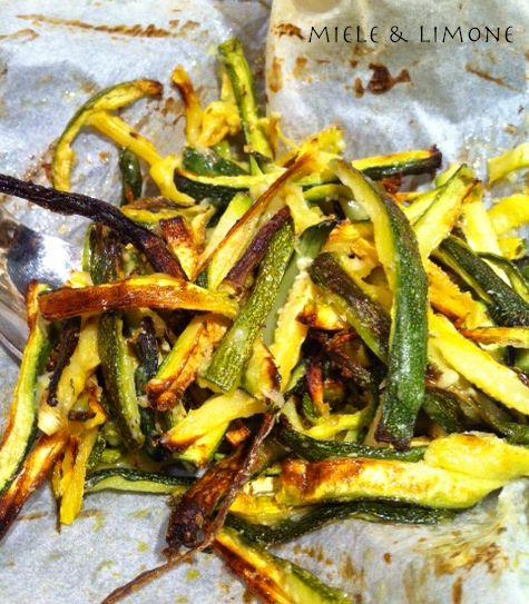 Zucchine Stick al forno