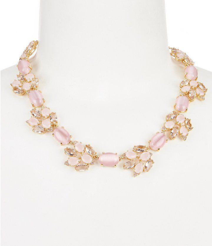 Kate Spade Blushing Blooms Statement Necklace
